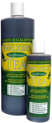 Walker's Tea Decaffeinated Concentrate